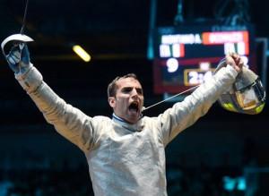 Szilágyi Áron aranyérmet nyert az Olimpián